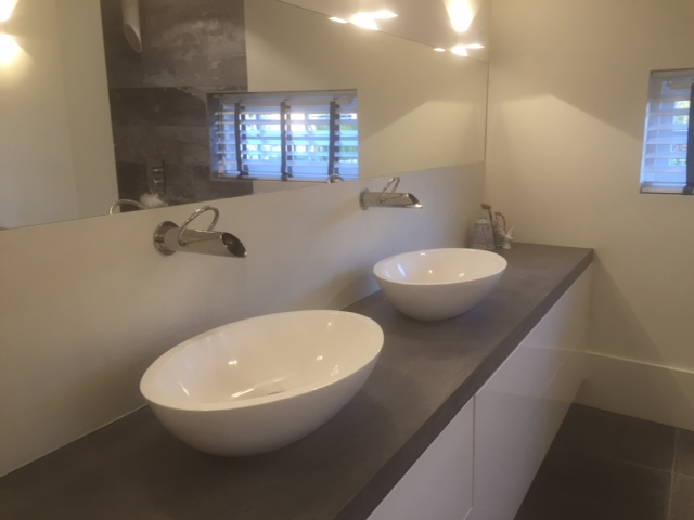 Badkamer met Beal en Freshcolori (italiaans stucwerk) - Kees de Kock ...